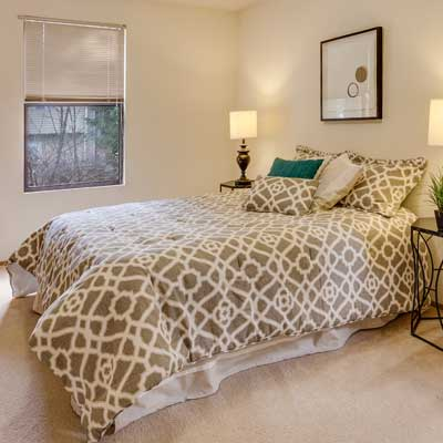Bedroom Clean Carpet